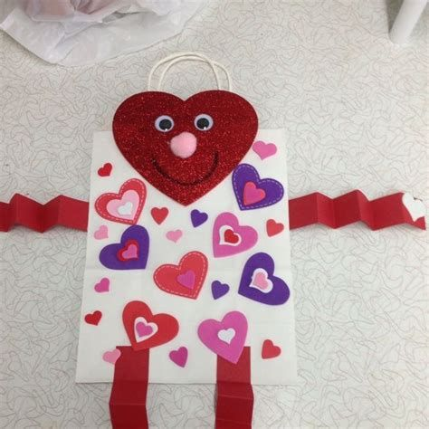 Cool Printable Valentine Bag Decorations Ideas 18