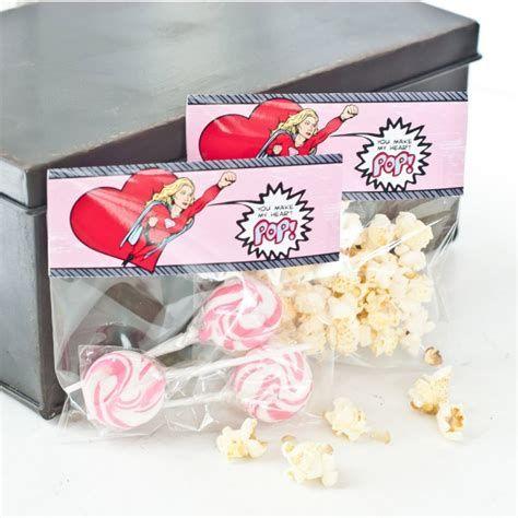 Cool Printable Valentine Bag Decorations Ideas 37