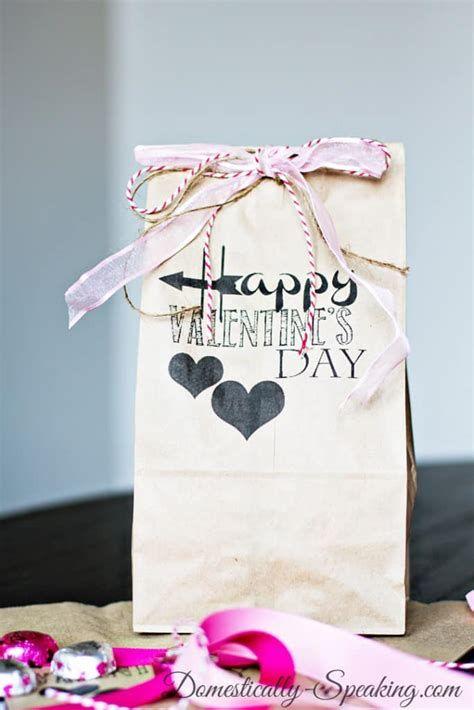 Cool Printable Valentine Bag Decorations Ideas 38