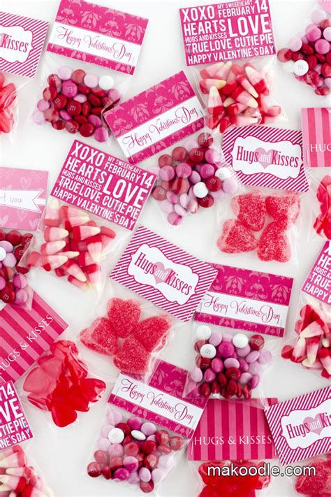 Cool Printable Valentine Bag Decorations Ideas 44