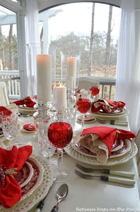 Easy Valentine Dinner Table Decorations Ideas 11