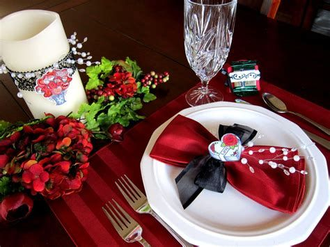 Easy Valentine Dinner Table Decorations Ideas 15