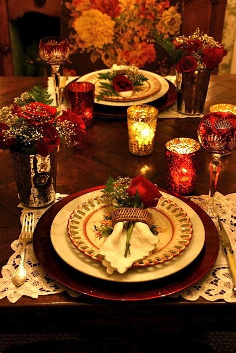 Easy Valentine Dinner Table Decorations Ideas 20