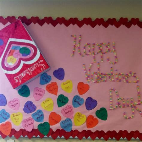 Easy Valentines Board Decorations Ideas 36