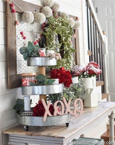 Stunning Diy Farmhouse Valentine Decor Ideas 02