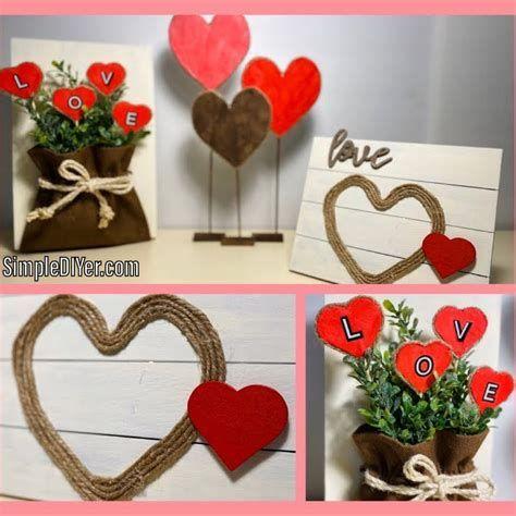 Stunning Diy Farmhouse Valentine Decor Ideas 05