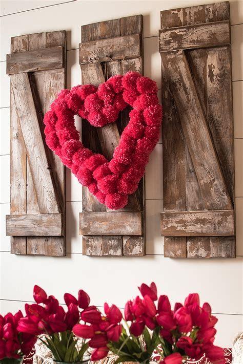 Stunning Diy Farmhouse Valentine Decor Ideas 09