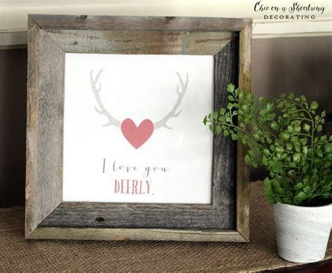 Stunning Diy Farmhouse Valentine Decor Ideas 31