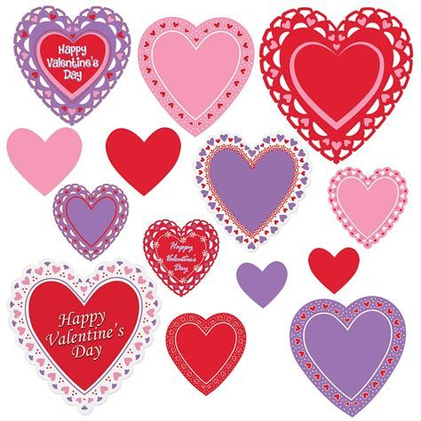 Warm Valentines Decoration Cutouts Ideas 45