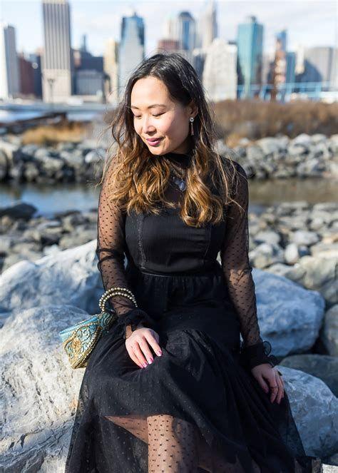Adorable Black Dress For Valentine Day 09