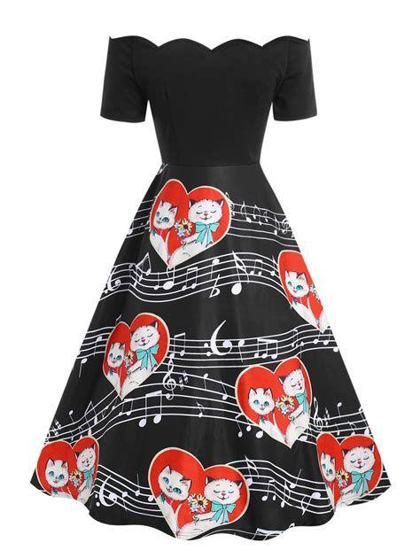 Adorable Black Dress For Valentine Day 16