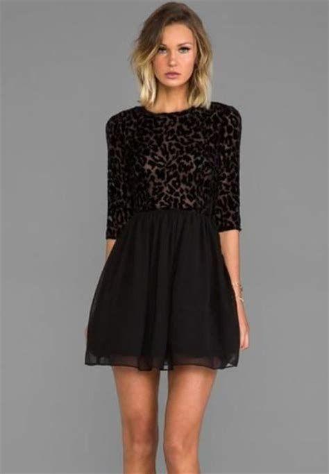Adorable Black Dress For Valentine Day 24