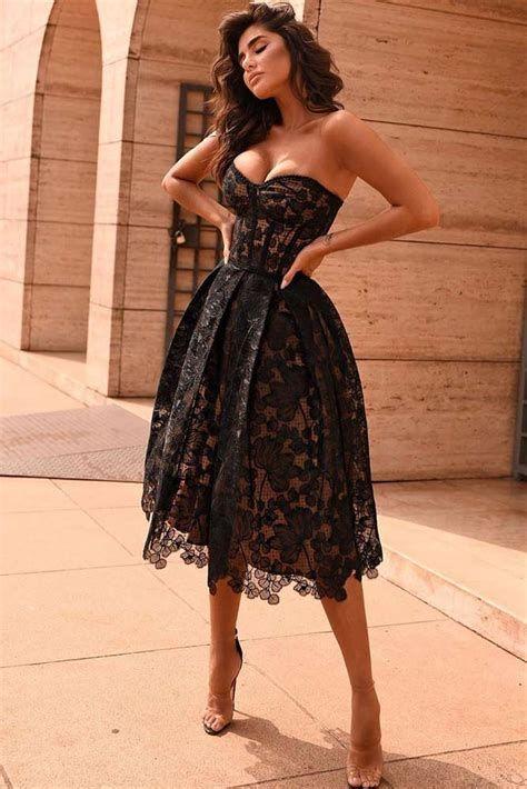 Adorable Black Dress For Valentine Day 28