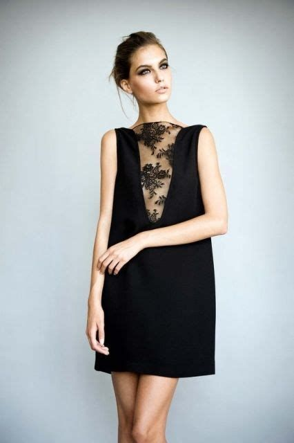 Adorable Black Dress For Valentine Day 35