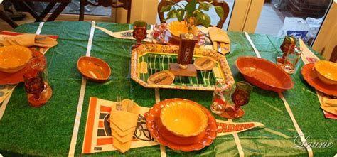 Adorable Super Bowl Table Decoration Ideas 07