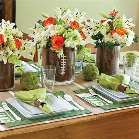 Adorable Super Bowl Table Decoration Ideas 10