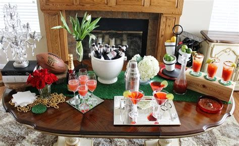 Adorable Super Bowl Table Decoration Ideas 45