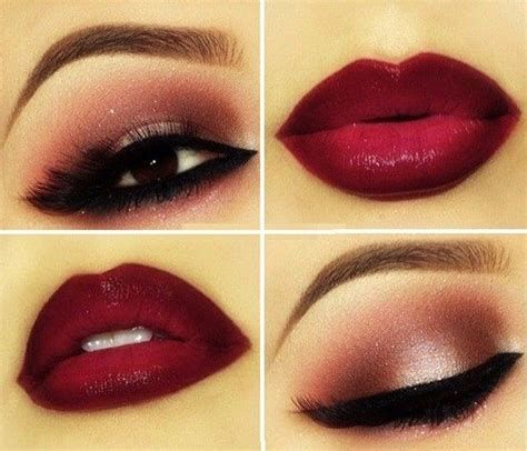 Adorable Valentines Day Makeup Look Ideas 12