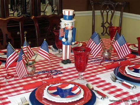 Amazing Patriotic Table Decorations Ideas 12