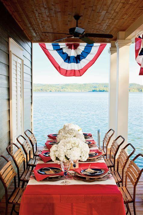 Amazing Patriotic Table Decorations Ideas 20