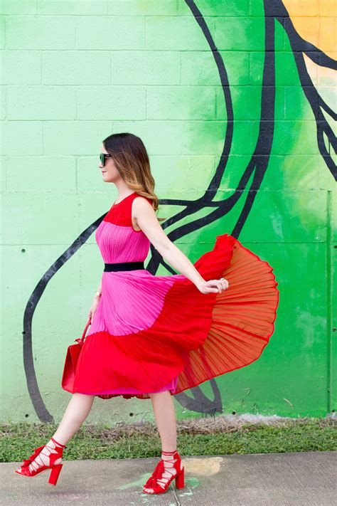 Amazing Pink And Red Dresses Ideas 07