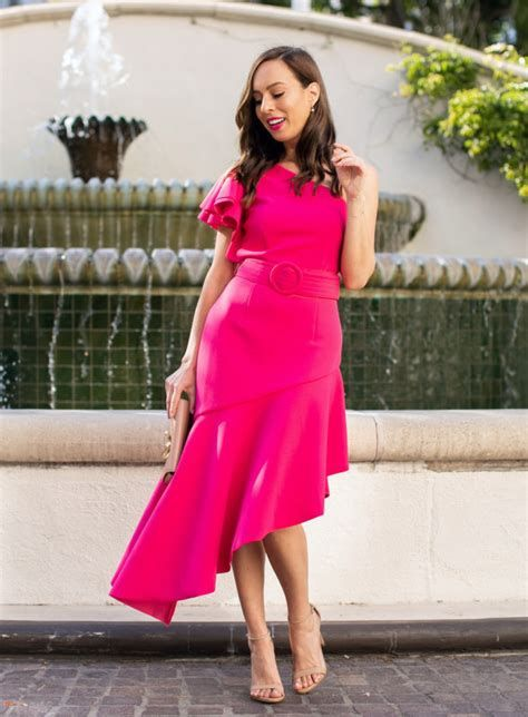 Amazing Pink And Red Dresses Ideas 11