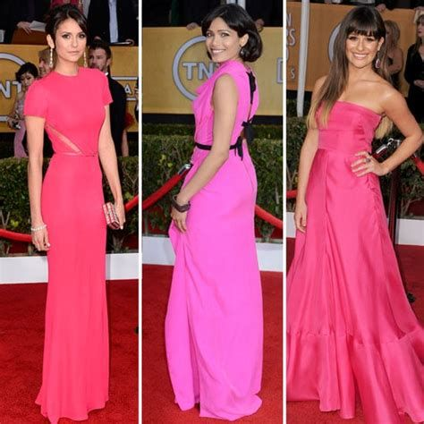 Amazing Pink And Red Dresses Ideas 12