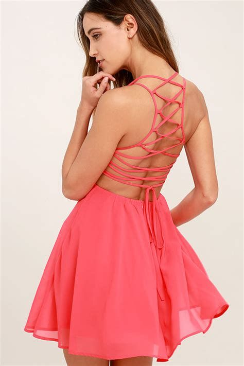 Amazing Pink And Red Dresses Ideas 20