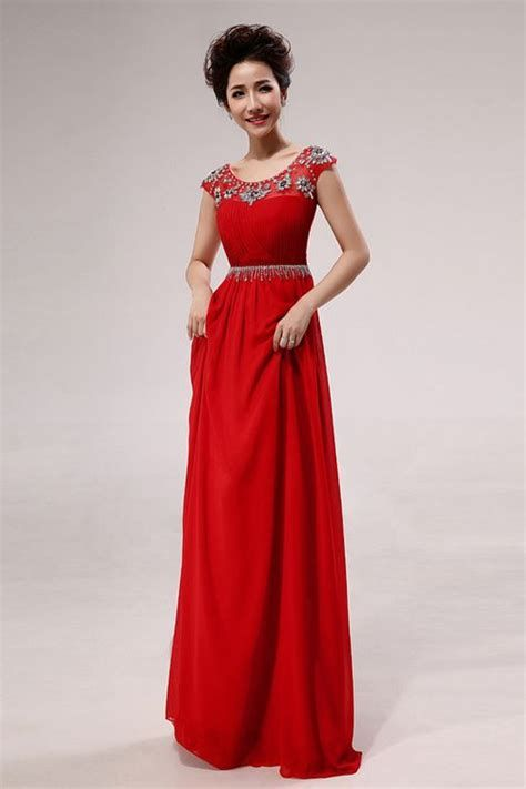 Amazing Pink And Red Dresses Ideas 36