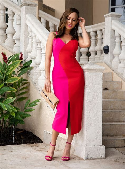 Amazing Pink And Red Dresses Ideas 45