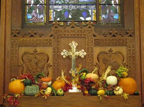Awesome Church Decoration Ideas For Thanksgiving 02