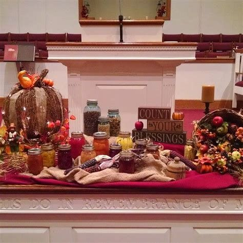 Awesome Church Decoration Ideas For Thanksgiving 05
