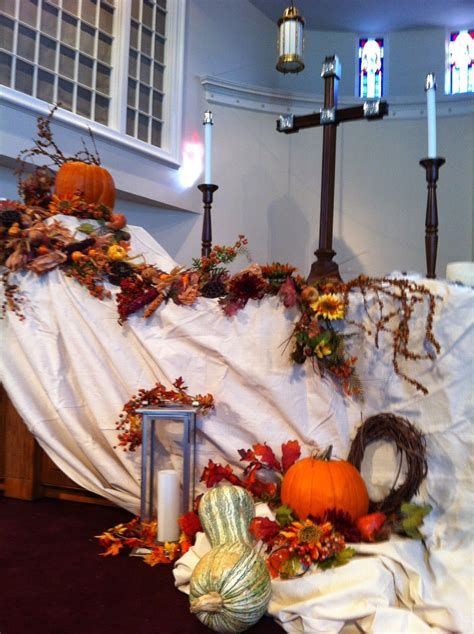 Awesome Church Decoration Ideas For Thanksgiving 08