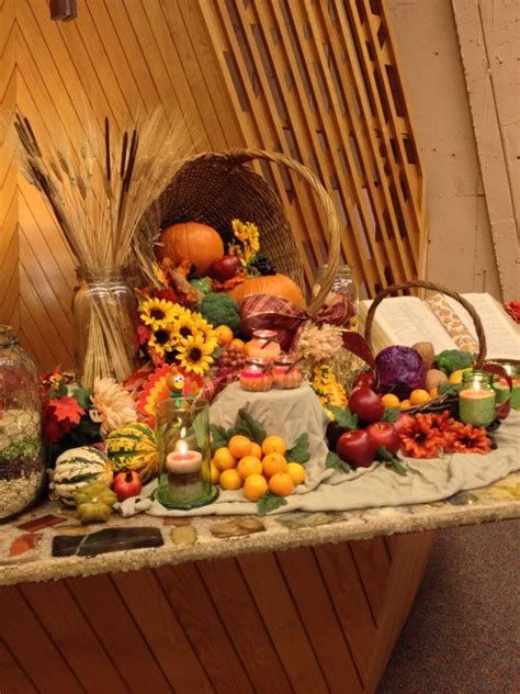 Awesome Church Decoration Ideas For Thanksgiving 39