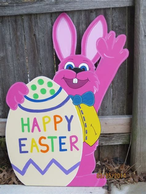 Awesome Wooden Easter Yard Decorations 01