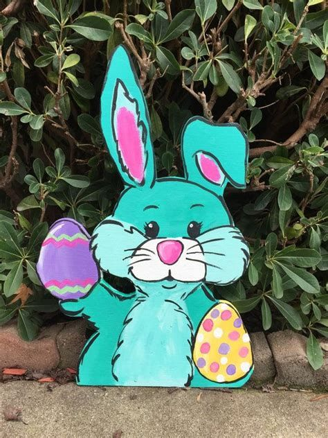 Awesome Wooden Easter Yard Decorations 03