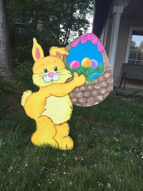 Awesome Wooden Easter Yard Decorations 04
