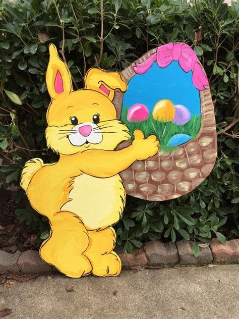 Awesome Wooden Easter Yard Decorations 05