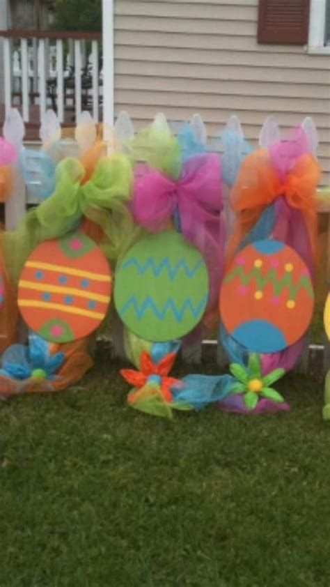 Awesome Wooden Easter Yard Decorations 06