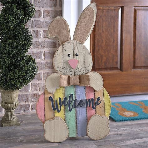 Awesome Wooden Easter Yard Decorations 11