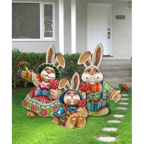 Awesome Wooden Easter Yard Decorations 14
