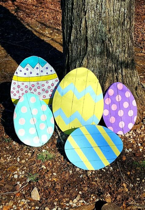 Awesome Wooden Easter Yard Decorations 15