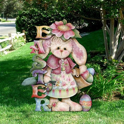 Awesome Wooden Easter Yard Decorations 19