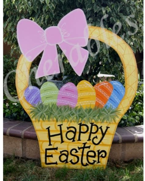 Awesome Wooden Easter Yard Decorations 21