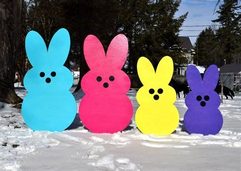 Awesome Wooden Easter Yard Decorations 26