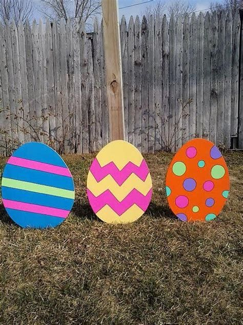 Awesome Wooden Easter Yard Decorations 33