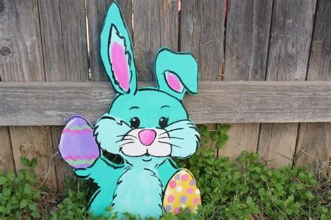 Awesome Wooden Easter Yard Decorations 36