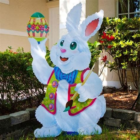 Awesome Wooden Easter Yard Decorations 38