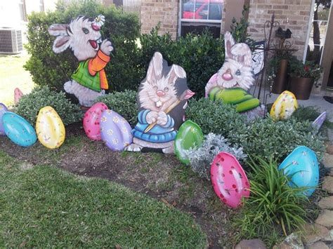 Awesome Wooden Easter Yard Decorations 39
