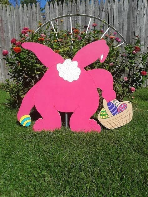 Awesome Wooden Easter Yard Decorations 43